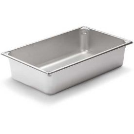 """Vollrath, Super Pan V Stainless Steam Table Pan, 30042, 4"""" Depth, 1/1 Size Package... by"""