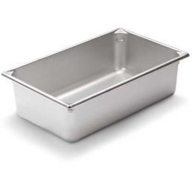 "Vollrath, Super Pan V Stainless Steam Table Pan, 30062, 6"" Depth, 1/1 Size Package... by"