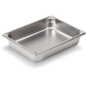 """Vollrath, Super Pan V Stainless Steam Table Pan, 30122, 2-1/2"""" Depth, 2/3 Size... by"""