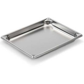 """Vollrath 30212 Super Pan V Stainless Steam Table Pan, 1-1/4"""" Depth, 1/2 Size Package... by"""