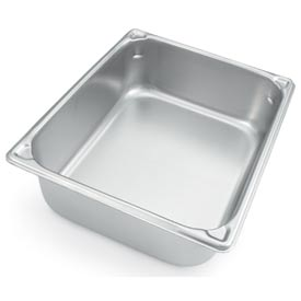 Vollrath® Half Size 6 Inch Heavy Gauge Pan 30260 - Pkg Qty 6