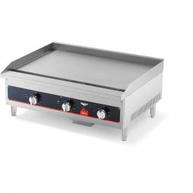 "Vollrath, Cayenne 24"" Thermostatically Controlled Gas Griddle, 40722, 56000 BTU,... by"
