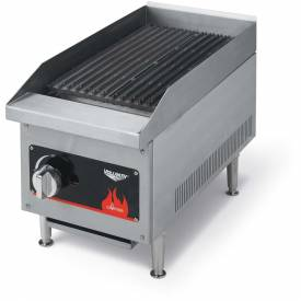 "Vollrath, Cayenne 36"" Radiant/Lava Rock Charbroilers, 407312, 6 Burners, 120000 BTU by"
