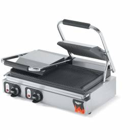 Vollrath, Cayenne Cast Iron Panini Style Plate Sandwich Press, 40795-C, Us & Canada, 2700-3600 Watts by