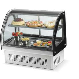 """Vollrath, 60"""" Display Cabinet, 40844, Refrigerated, 60"""" X 21"""" X... by"""