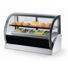"""Vollrath, Display Cabinet, 40857, 60"""" Curved Glass, Heated by"""