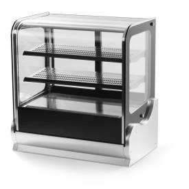 """Vollrath, Display Cabinet, 40864, 60"""" Cubed Glass, Refrigerated by"""
