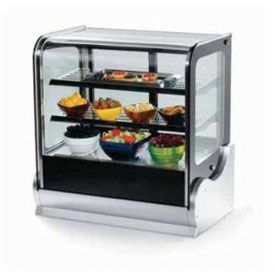 """Vollrath, Display Cabinet, 40865, 36"""" Cubed Glass, Heated by"""