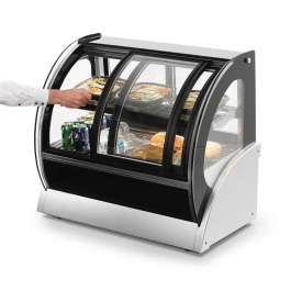 """Vollrath, Display Case, 40882, 60"""" Curved Glass, Refrigerated by"""