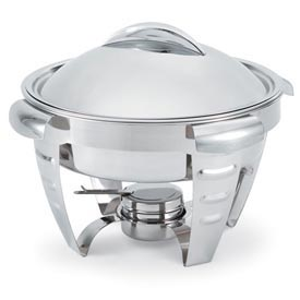 Maximillian™ Steel Cover with Handle for Large Round 6 Qt