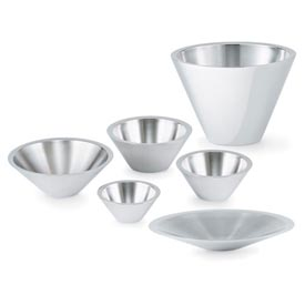 2.8 Qt Conical Double Wall Bowl