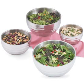 Angled Double Wall Beehive Bowl 5.0 Qt - Pkg Qty 2