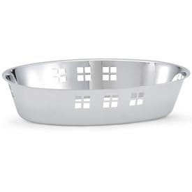 Stainless Steel Oval Bowl