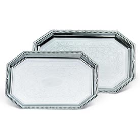 Vollrath® Odyssey™ Serving Tray - Small Octagon Tray - Pkg Qty 6