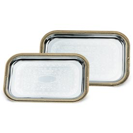 Vollrath® Odyssey™ Serving Tray - Rectangular Tray - Gold - Pkg Qty 6