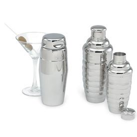 Cocktail Shaker Contemporary Style 22 Oz - Pkg Qty 12