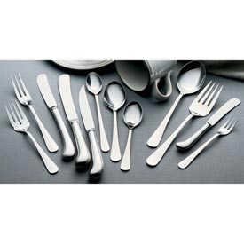 Click here to buy Queen Anne Flatware 7 Inch Oval Dessert Spoon Package Count 12.