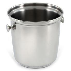 Silver Plate Wine Bucket Stainless Steel with Handles