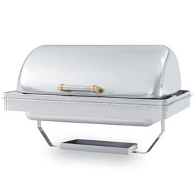 New York, New York® Silver Plate 9 Qt Drop-In Chafer - Rectangular