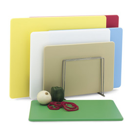 12x18x1/2 Cutting Board Multi-Color Set of 6 Boards