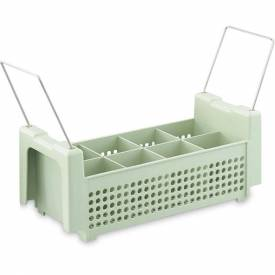 Vollrath, Flatware Basket, 52641, 8-Compartment Package Count 4 by