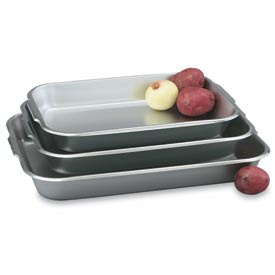 Stainless Bake And Roast Pan 4-3/4 Qt. - Pkg Qty 3
