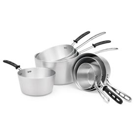7 Qt Sauce Pan With Plain Handle - Pkg Qty 6