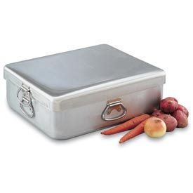 "Vollrath Wear-Ever 68391 - Roast Pan, 42 Qt., Heavy Duty Aluminum, Handles, 20-7/8"" x 17-3/8"" x 7"""