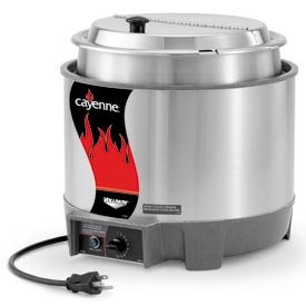 Cayenne® Round Heat 'N Serve - 11 Qt. Unit with Package
