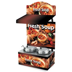 Cayenne® - Twin Well 7 Qt. Soup Merchandisers - Canopy Country Kitchen