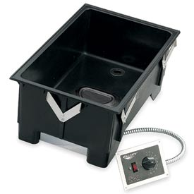 Cayenne® - Drop-In Warmer with Drain and Remote Control Panel