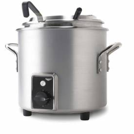 Vollrath, Retro Stock Pot Kettle Rethermalizer, 7217710, 7 Quart, Natural Finish by