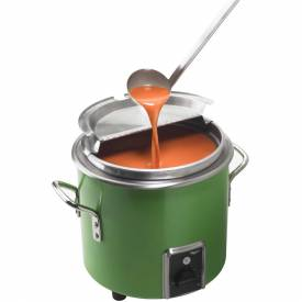 Vollrath, Retro Stock Pot Kettle Rethermalizer, 7217735, 7 Quart, Green Apple Finish