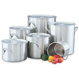 "24 Qt (12"") Tri-Ply Stock Pot"