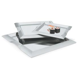"Vollrath® Stainless Steel Square Serving Tray - 11-3/4""L X 11-3/4w - Pkg Qty 3"