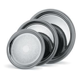 Vollrath® Elegant Reflections™ Round Tray - 12-3/8""