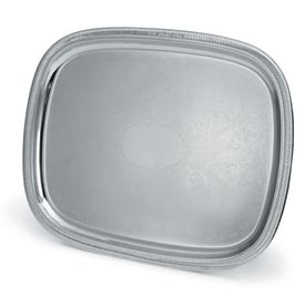 "Vollrath® Elegant Reflections™ Oblong Tray - 23-1/2"" x 18-1/2"""