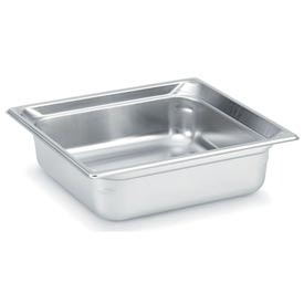 Vollrath® 2/3 Size Super Pan 3® 90142 Pan 100mm, 4d - Pkg Qty 6