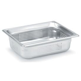 "1/2 Super Pan 3® Perforated Pan 150mm, 6""D - Pkg Qty 6"