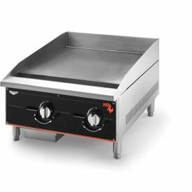 "Vollrath, Cayenne 24"" Heavy Duty Gas Griddle, 924GGM, 2 Burners, 60000 BTU by"