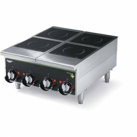 """Vollrath, Cayenne Heavy-Duty Induction Hot Plate, 924HIMC, Four-Hob Manual, 24"""" X 13-5/8"""" X 30"""" by"""