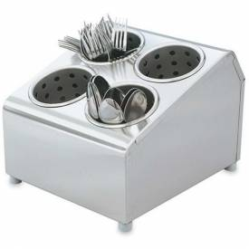 Click here to buy Vollrath, Vertical Flatware Washing System Cylinders & Storage Unit, 97240, 6 Cylinder.