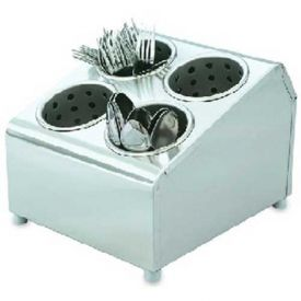 Click here to buy Vollrath, Vertical Flatware Washing System Cylinders & Storage Unit, 97241, 6 Cylinder.