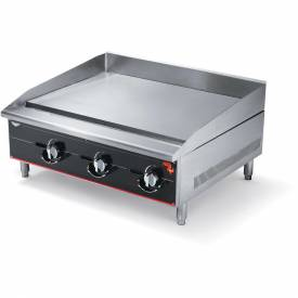 "Vollrath, Cayenne 72"" Heavy Duty Gas Griddle, 972GGM, 6 Burners, 180000 BTU by"