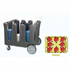 "Click here to buy Vollrath, Traex Adjustable Dish Caddy, ADC-8, For Dish Sizes: 7 1/8 ""- 8 1/2"", 8 Divider."