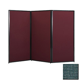 "Privacy Screen, 70"" Fabric, Evergreen"