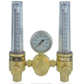 DFM Dual Flowmeter Regulators, VICTOR 0781-1153 by