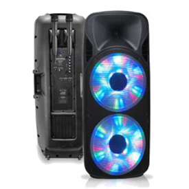 "Buy Technical Pro Rechargeable Double 15"" Two-Way Bluetooth Loudspeaker"