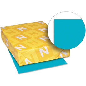 "Neenah Paper Astrobrights Colored Card Stock 21855, 8-1/2"" x 11"", Terrestrial Teal, 250/Pack by"