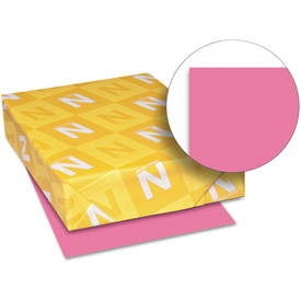 "Neenah Paper Astrobrights Card Stock Paper, 8-1/2"" x 11"", Plasma Pink, 250 Sheets/Pack by"